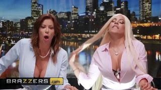 News Ancwhores by Brazzers Alexis Fawx abd Luna Star have threesome sex with Johnny Sins