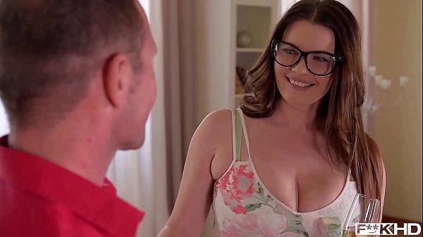 Ultra Sexy Busty Secretary in Glasses Rides a Hard Dick xnxx 2019