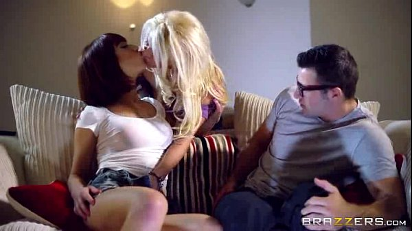 Hot as Fire threesome Porn scene from Brazzers Full videos