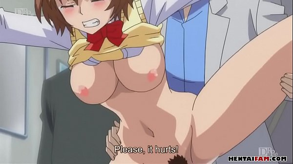 Sex Punishment in the train for the busty young girl xxx Hentai uncensored