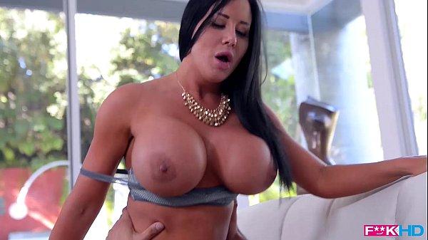 Big Titty luxury slut Sybil Stallone slammed hard